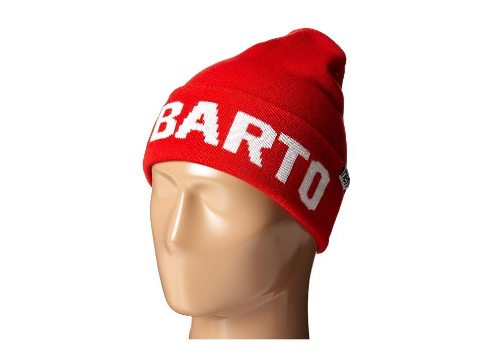 Neff - EL Barto Beanie (Little Kid/Big Kid) (Red) Beanies