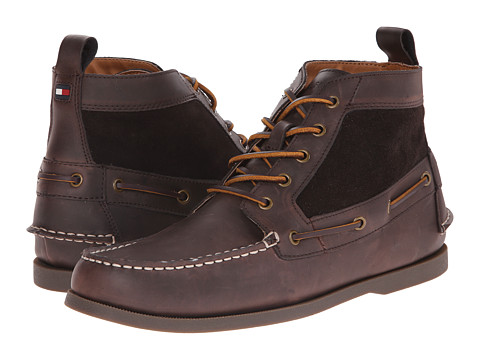 Tommy Hilfiger - Billie (Brown) Men's Lace-up Boots