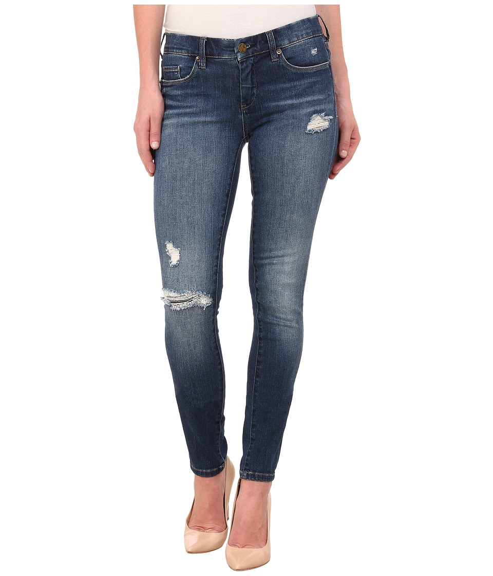 Blank NYC - Ripped Skinny Jeans in Blue (Blue) Women's Jeans