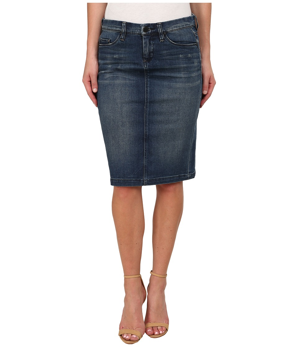 Blank NYC - Denim Pencil Skirt (Blue) Women