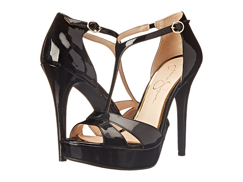 Jessica Simpson - Beryl (Black Patent) High Heels