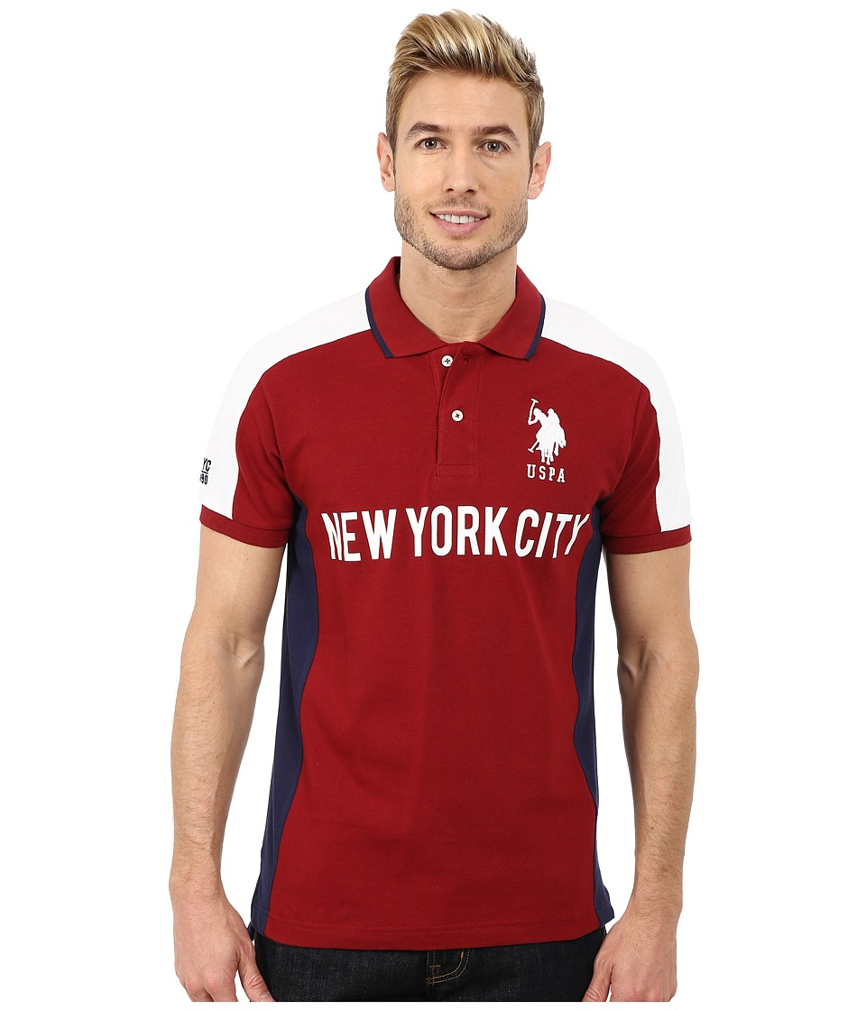 U.S. POLO ASSN. - New York City Polo (University Red) Men