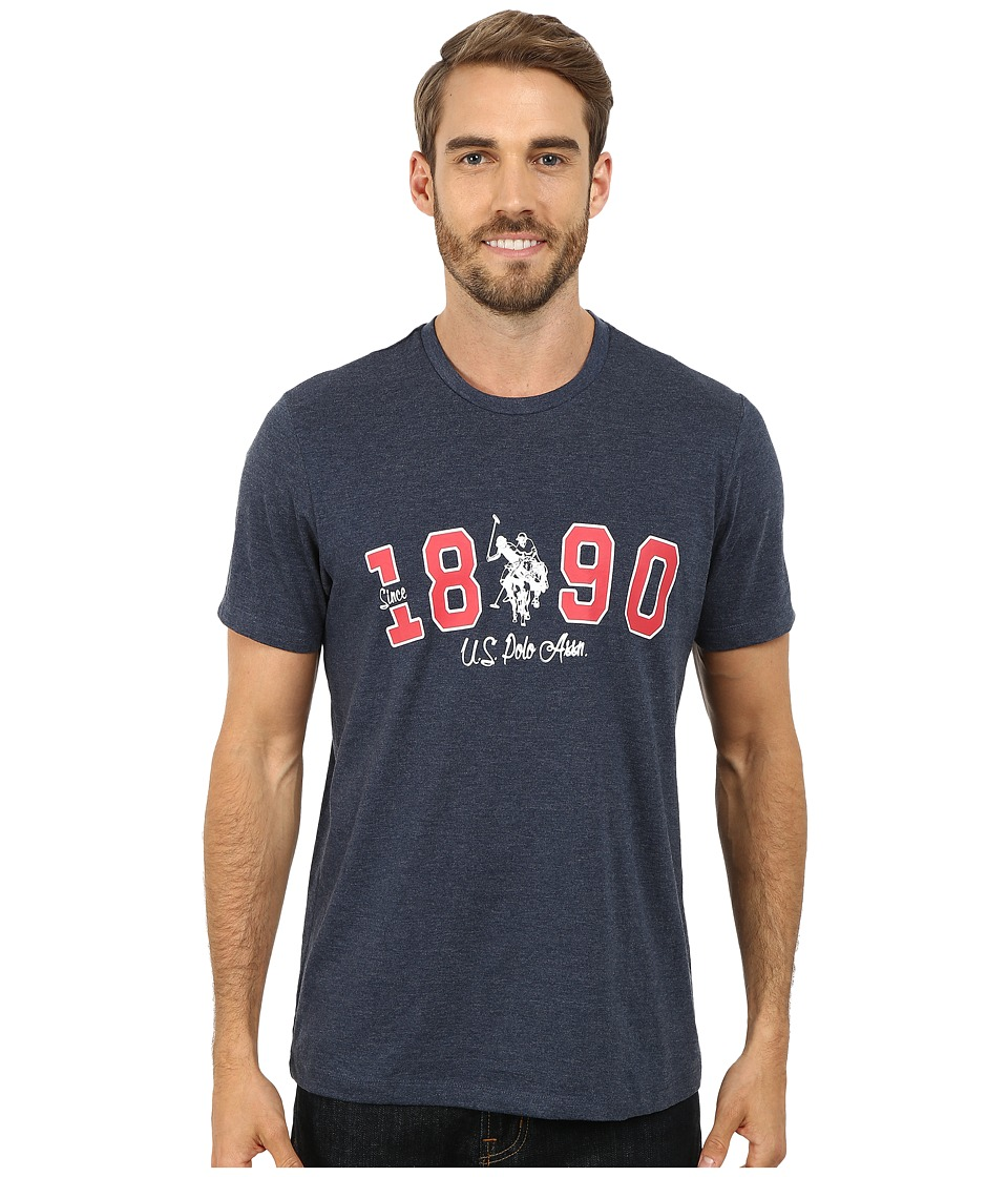 U.S. POLO ASSN. - U.S. Polo Assn. Since 1890 T-Shirt (Blue Heather) Men's T Shirt