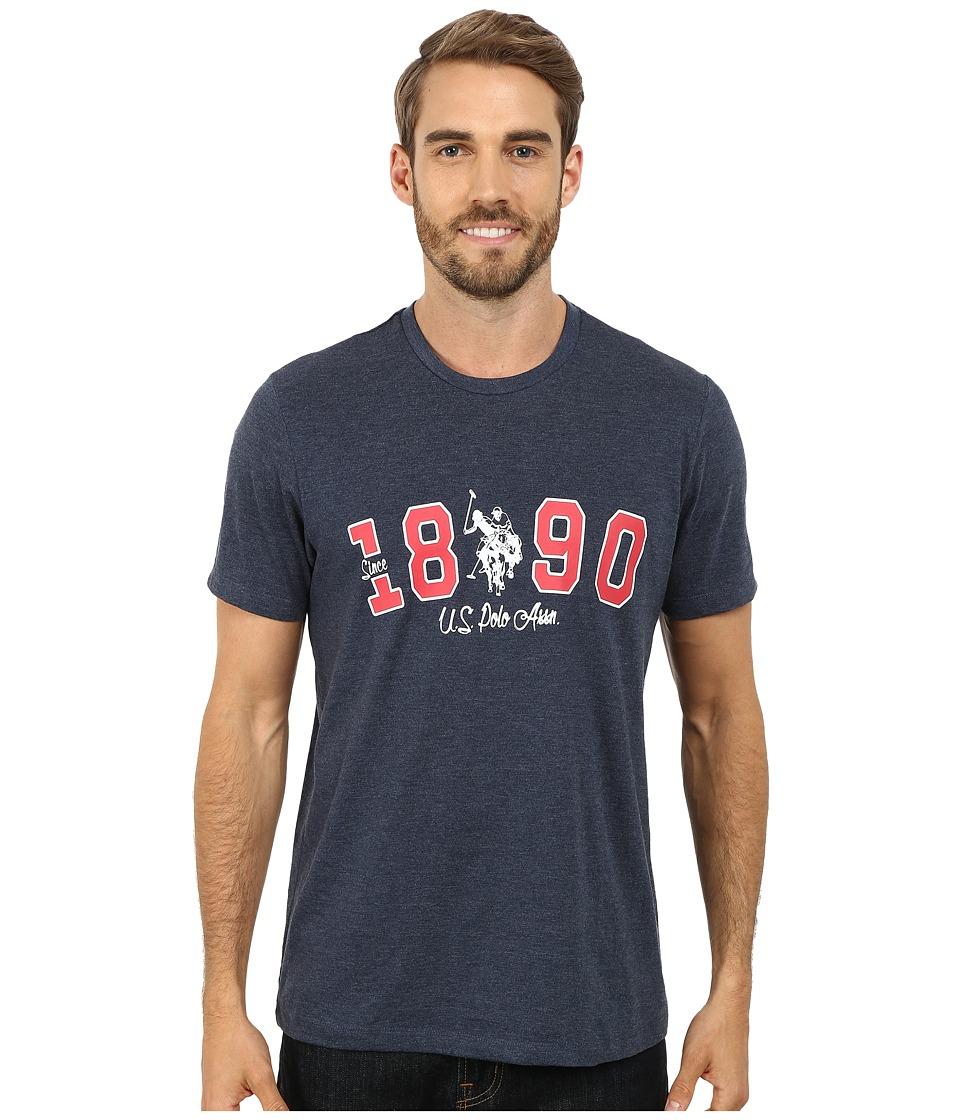 U.S. POLO ASSN. - U.S. Polo Assn. Since 1890 T-Shirt (Blue Heather) Men's T Shirt