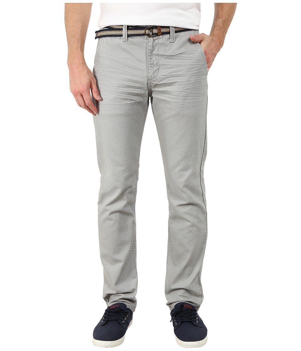 U.S. POLO ASSN. - Slim Fit Canvas Pants (Foundation Grey) Men's Casual Pants