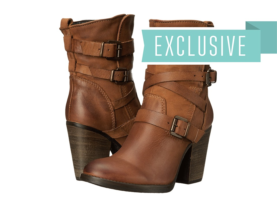 Steve Madden - Exclusive - Yale (Cognac Leather) Women's Boots