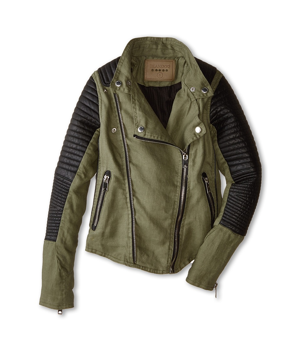 Blank NYC Kids - Holy Guacamole Jacket (Big Kids) (Guacamole) Girl's Coat