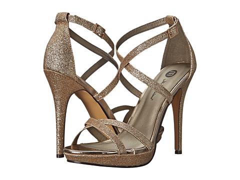 Michael Antonio - Tarten - Glitter (Nude) Women's Boots