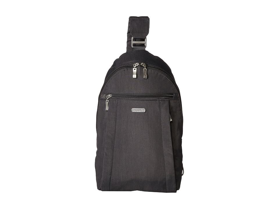 Baggallini - Glide Sling (Charcoal) Sling Handbags
