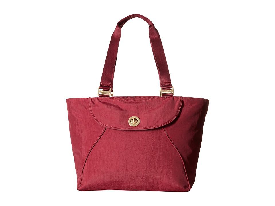 Baggallini - Gold Alberta Tote (Berry) Tote Handbags