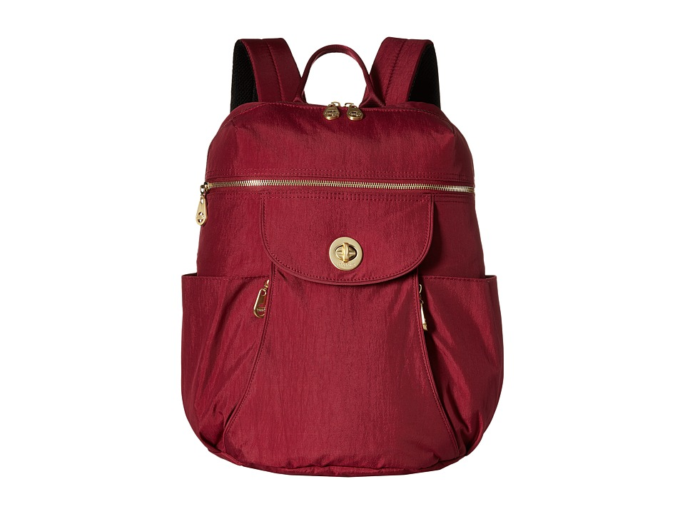Baggallini - Gold Capetown Backpack (Berry) Backpack Bags