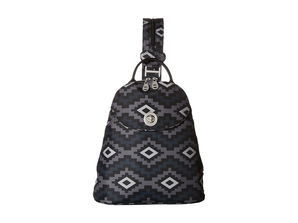 Baggallini - Cairo Backpack (Aztec Black) Backpack Bags