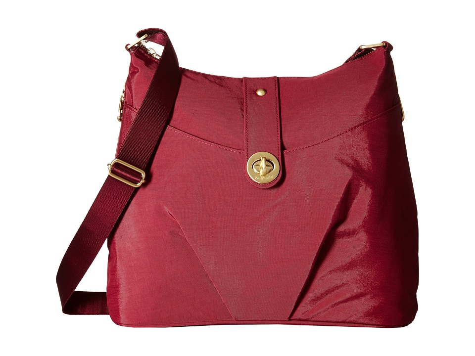 Baggallini - Gold Helsinki Bag (Berry) Handbags