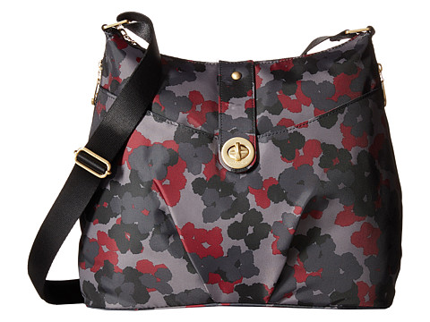 Baggallini - Gold Helsinki Bag (Midnight Floral) Handbags