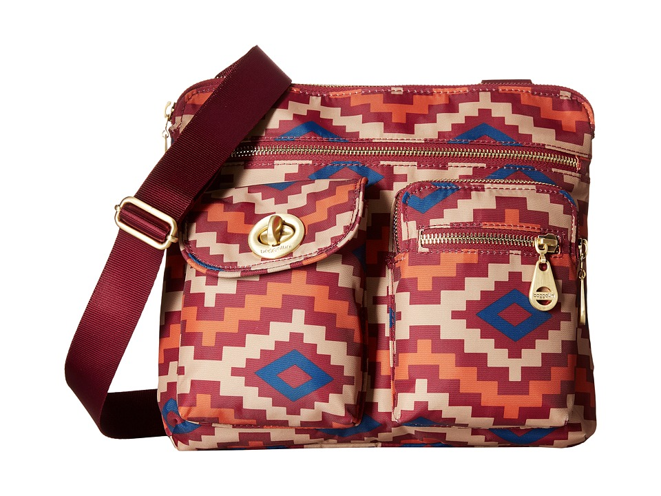 Baggallini - Gold Sydney (Aztec Berry) Handbags
