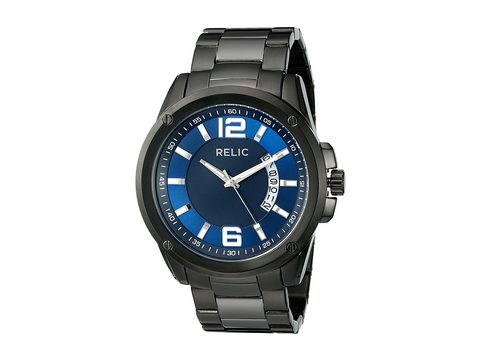 Relic - Grant XL (Gun/Blue) Watches