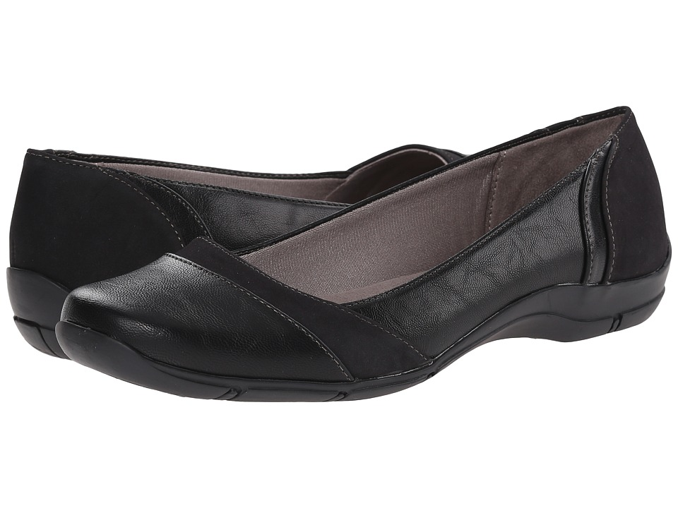 LifeStride - Daydream (Black) Women's Slip on Shoes