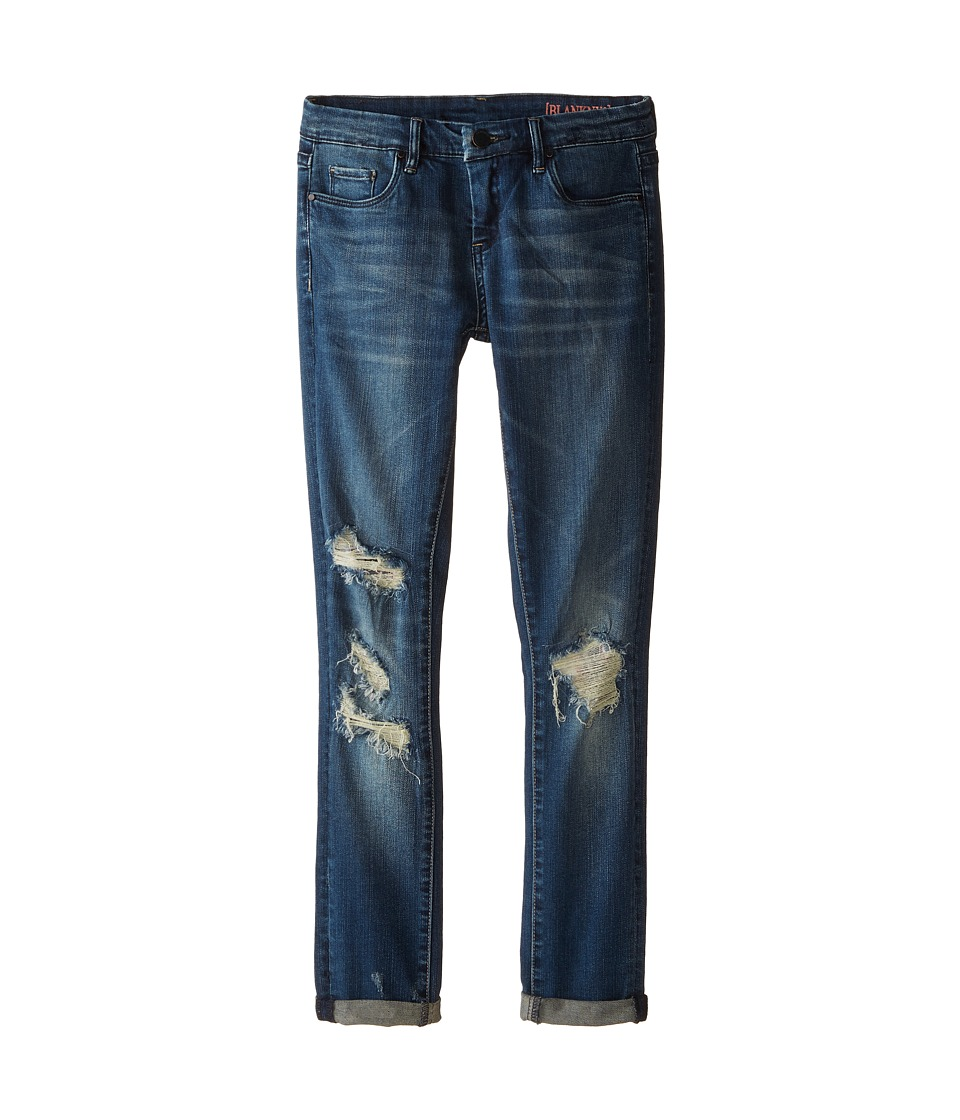 Blank NYC Kids - Boyfriend Jeans in Destroyed Wash (Big Kids) (Destroyed Wash) Girl's Jeans