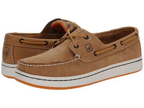 Sperry Top-Sider - Sperry Cup 2-Eye (Tan/Orange) Men