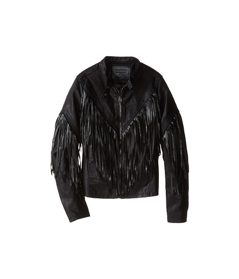 Blank NYC Kids - Hashtag Fringe Jacket (Big Kids) (Hashtag Abuser Fringe) Girl