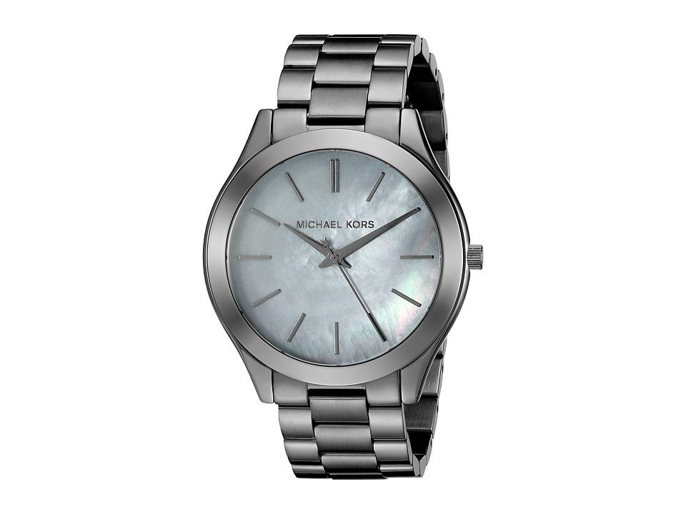 Michael Kors - Slim Runway (MK3413 - Gunmetal) Analog Watches