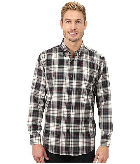 Pendleton - Long Sleeve Fitted Sir Pen Button Down Shirt (MacRae Ancient Dress Tartan) Men's Long Sleeve Button Up