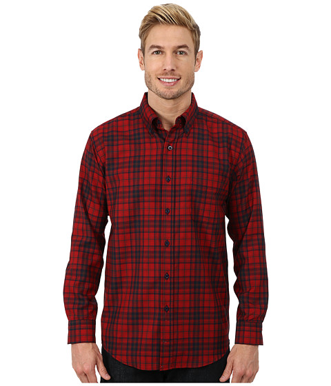 Pendleton - Long Sleeve Fitted Sir Pen Button Down Shirt (Matheson Tartan) Men's Long Sleeve Button Up