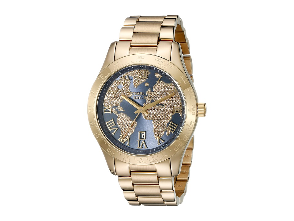 Michael Kors - Layton (MK6243 - Gold) Analog Watches
