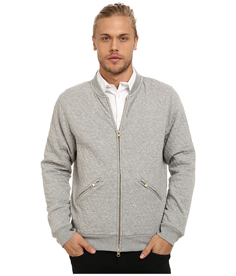 Gant Rugger - R. The Quilter (Grey Melange) Men's Sweatshirt
