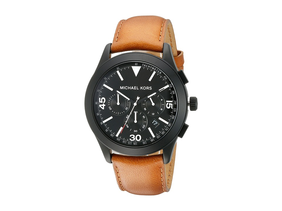 Michael Kors - Gareth (MK8450 - Black/Brown) Watches