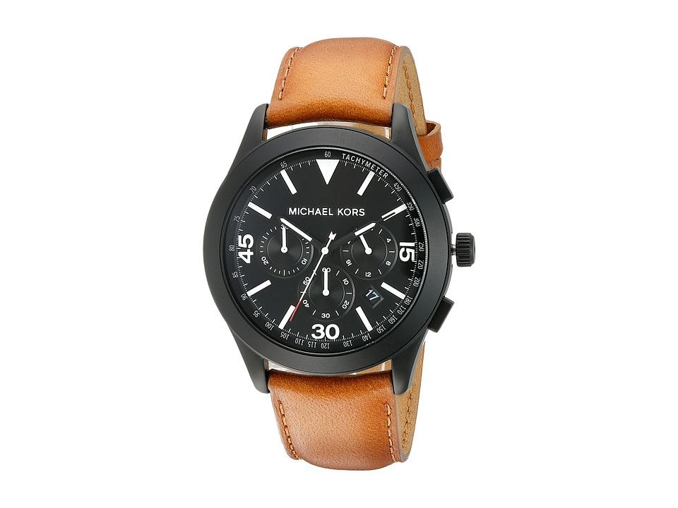 Michael Kors - Gareth (MK8450 - Black/Brown) Watches