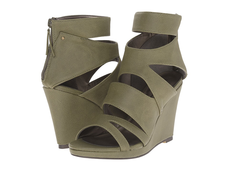 Michael Antonio - Allura (Olive) Women's Wedge Shoes