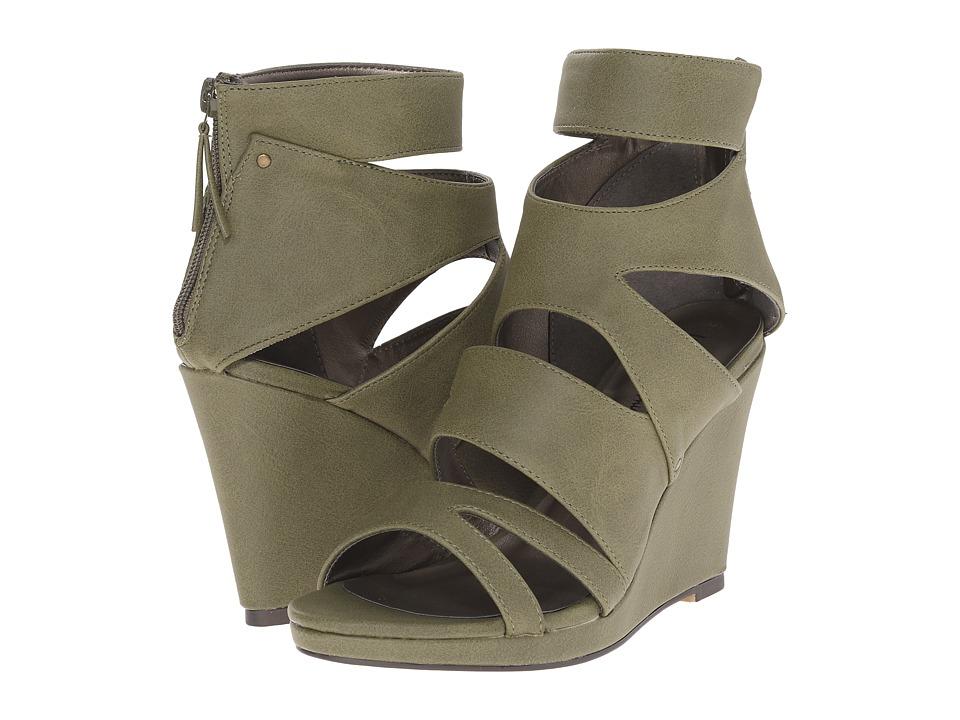 Michael Antonio - Allura (Olive) Women's Wedge Shoes