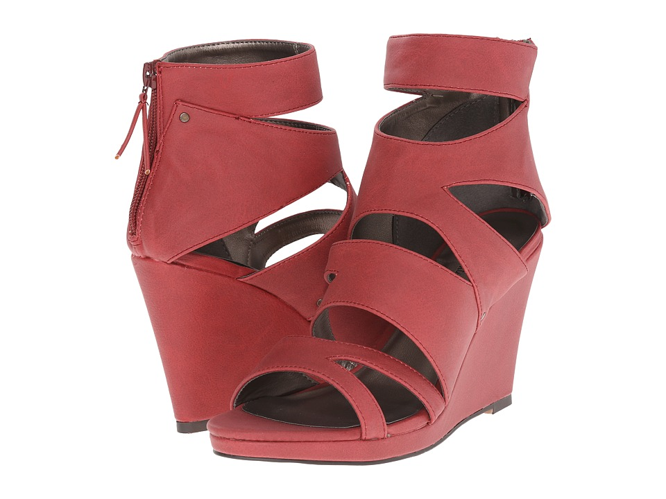 Michael Antonio - Allura (Red) Women's Wedge Shoes