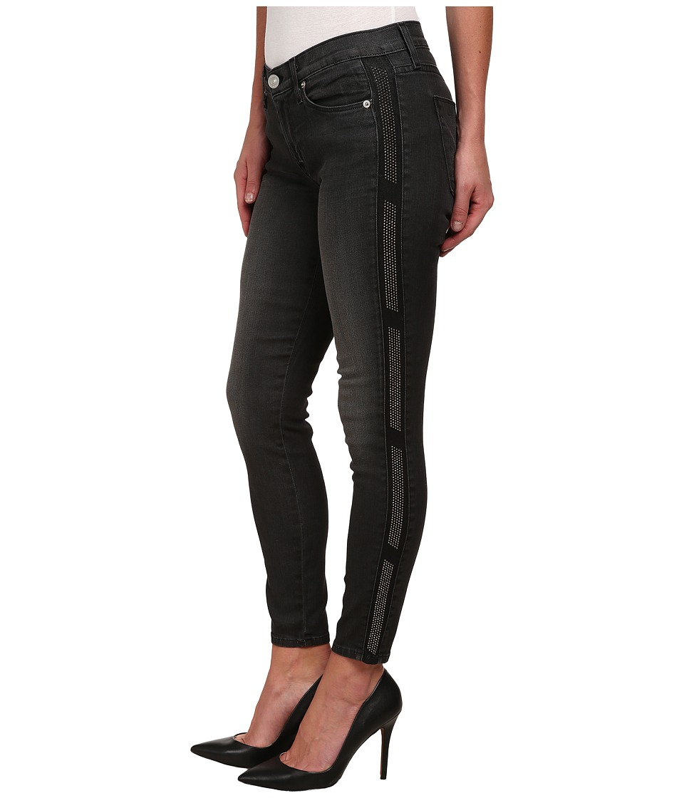 Hudson - Luna Skinny Black Wash Jeans in Atlas (Atlas) Women's Jeans
