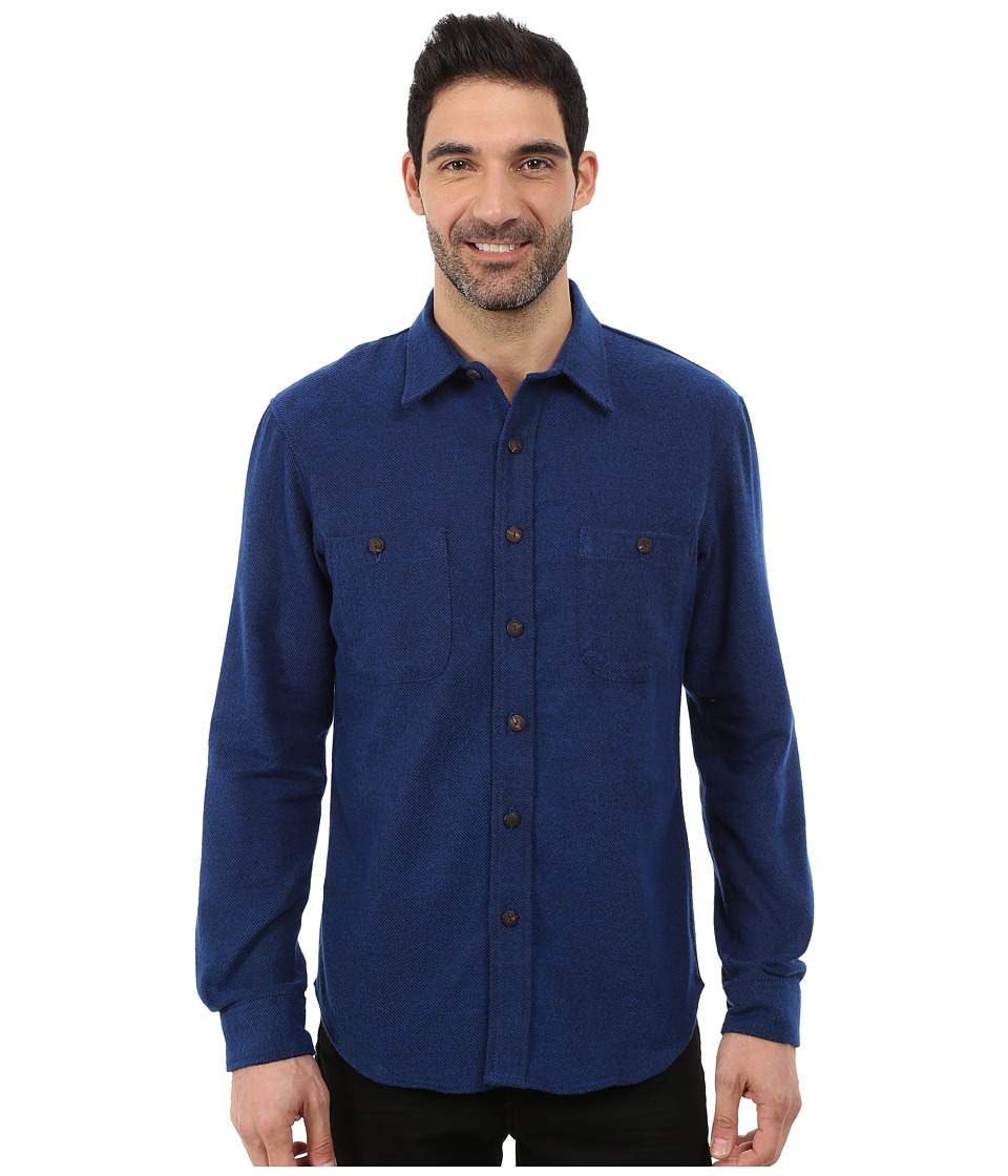Pendleton - Holman Shirt (Holman Blue) Men's Long Sleeve Button Up