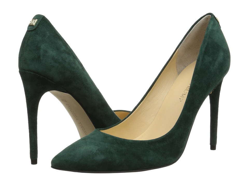 Ivanka Trump Kayden 4 (Dark Green Suede) High Heels
