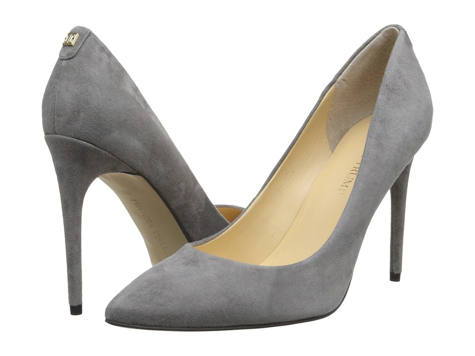 Ivanka Trump Kayden 4 (Gray Suede) High Heels