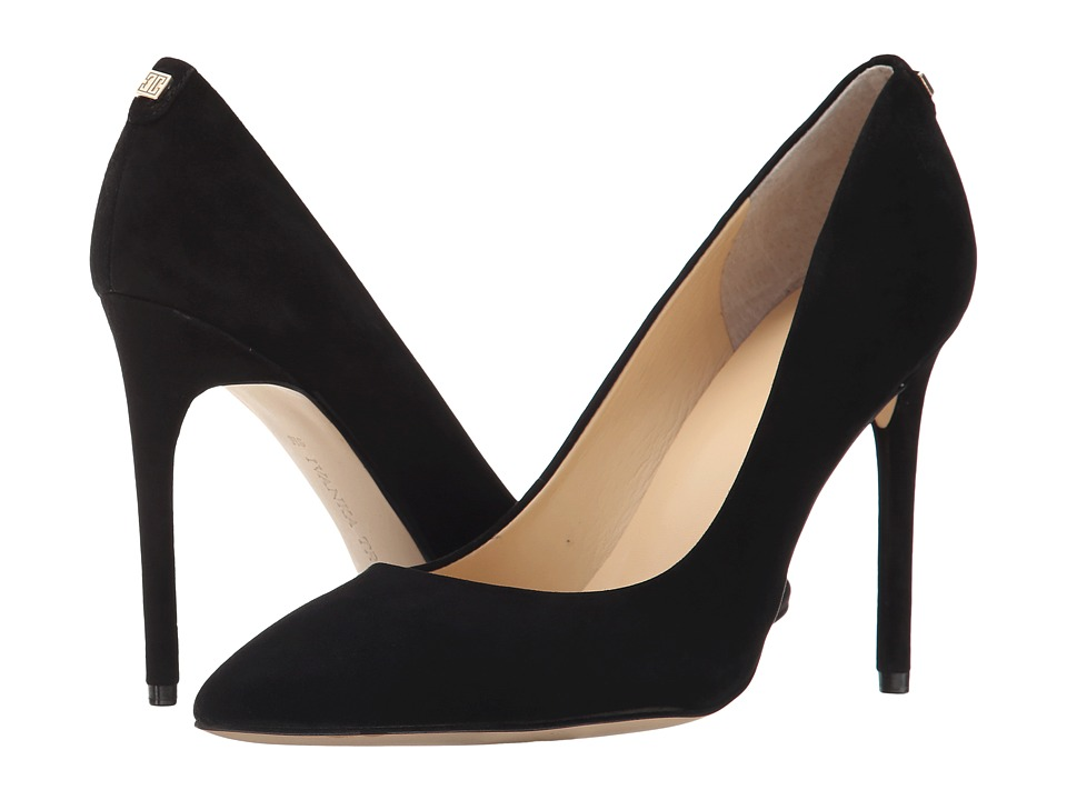 Ivanka Trump Kayden 4 (Black Suede) High Heels
