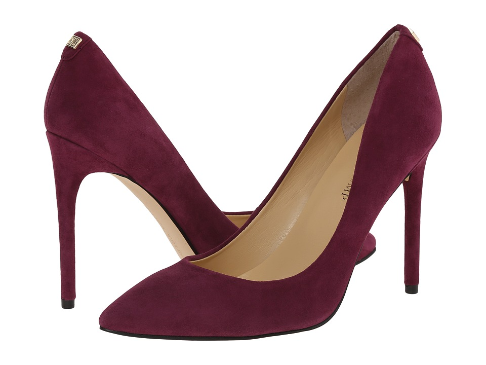 Ivanka Trump Kayden 4 (Deep Purple Suede) High Heels