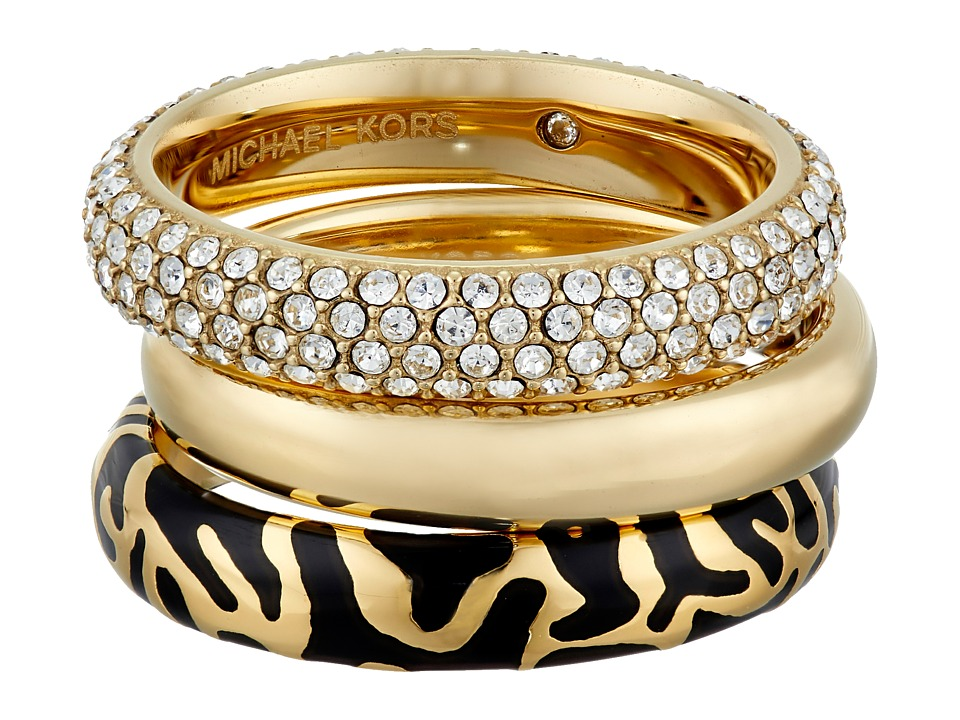 Michael Kors - Animal Instinct Stack Rings (Gold) Ring