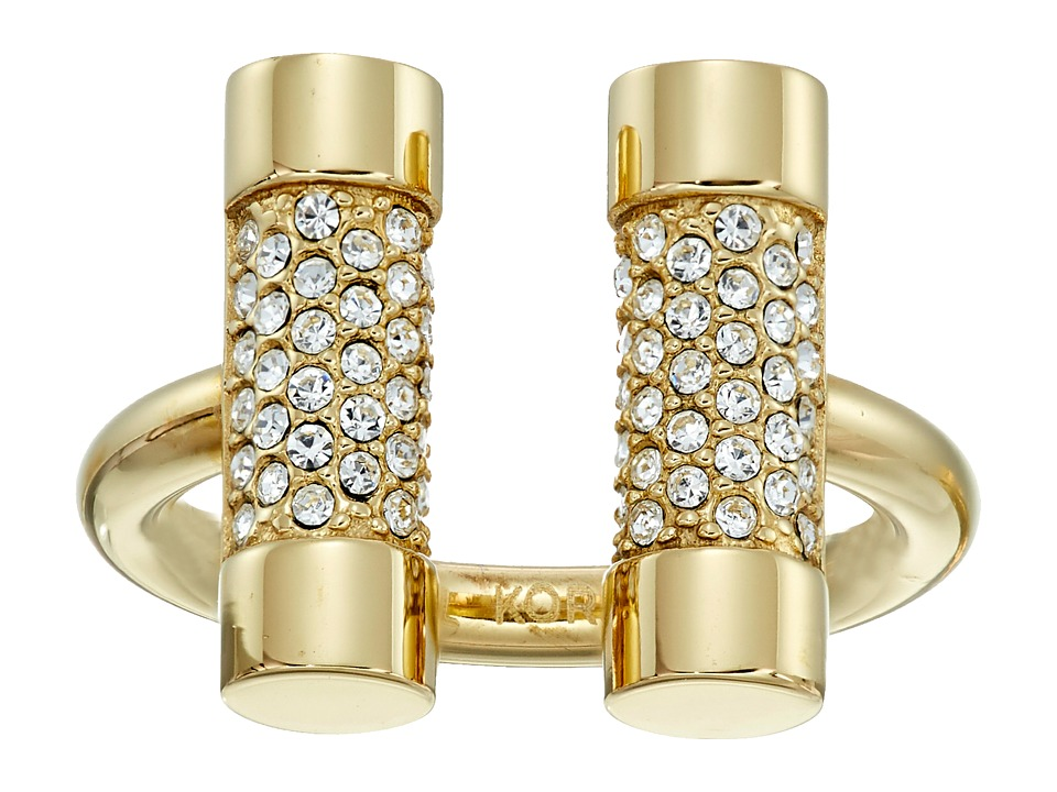 Michael Kors - Barrel Banded - Narrow Ring (Gold) Ring
