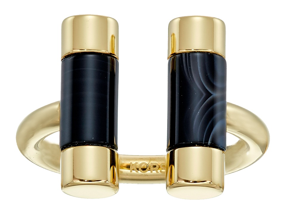 Michael Kors - Barrel Banded - Narrow Ring (Gold 1) Ring