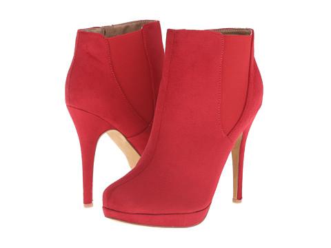 Michael Antonio - Merdock - Suede (Red) Women's Boots