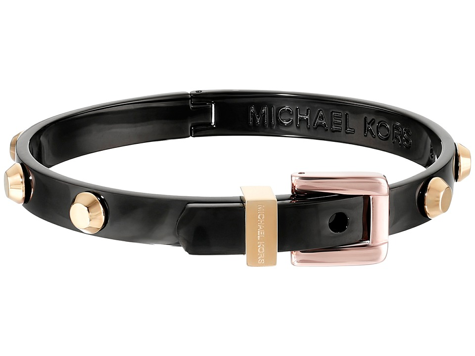 Michael Kors - Astor Buckle Bangle (Two-Tone 1) Bracelet