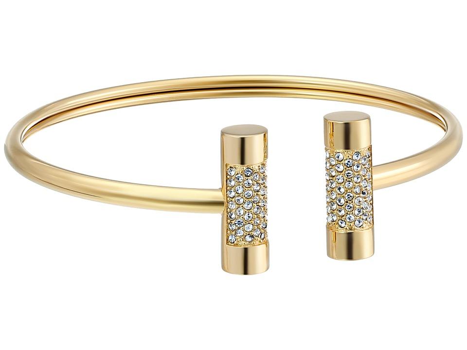 Michael Kors - Barrel Open Cuff Bracelet (Gold 1) Bracelet