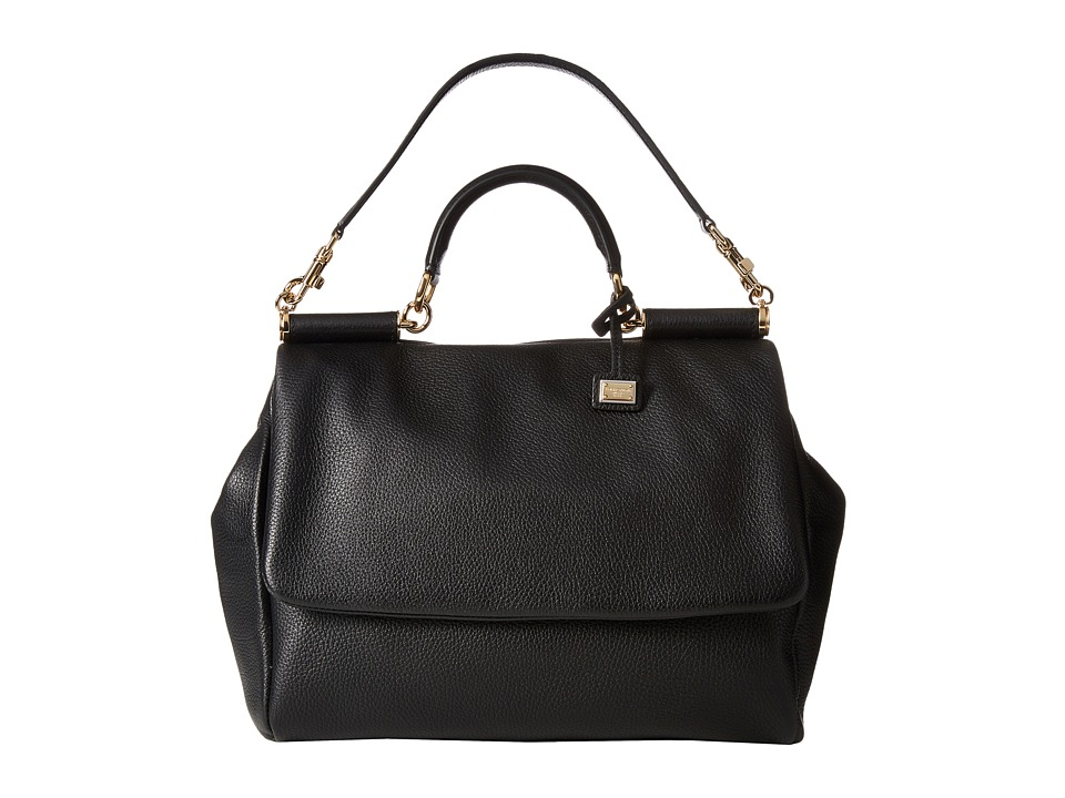 Dolce & Gabbana - Borsa A Mano Cervo (Nero) Top-handle Handbags