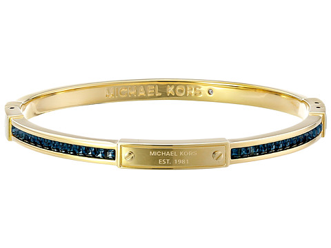 Michael Kors - Park Avenue Glam Bangle - Hinge Bracelet (Gold) Bracelet