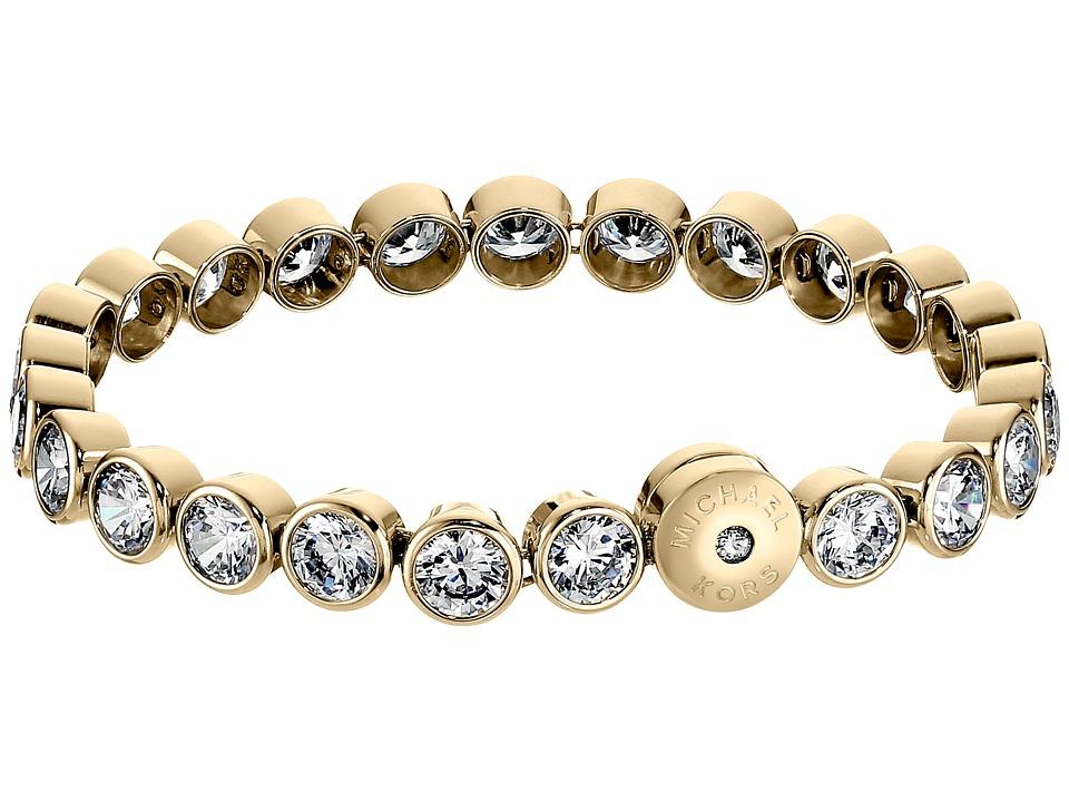 Michael Kors - Park Avenue Glam Bracelet - Tennis Bracelet (Gold) Bracelet