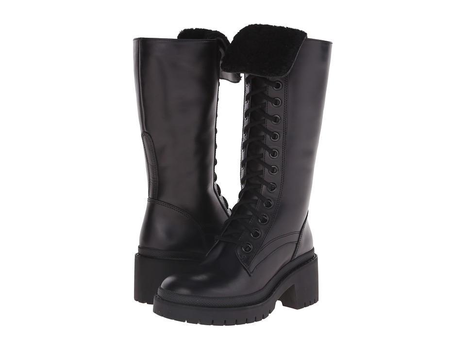 Marc by Marc Jacobs - Leigh Combat Boot (Black) Women